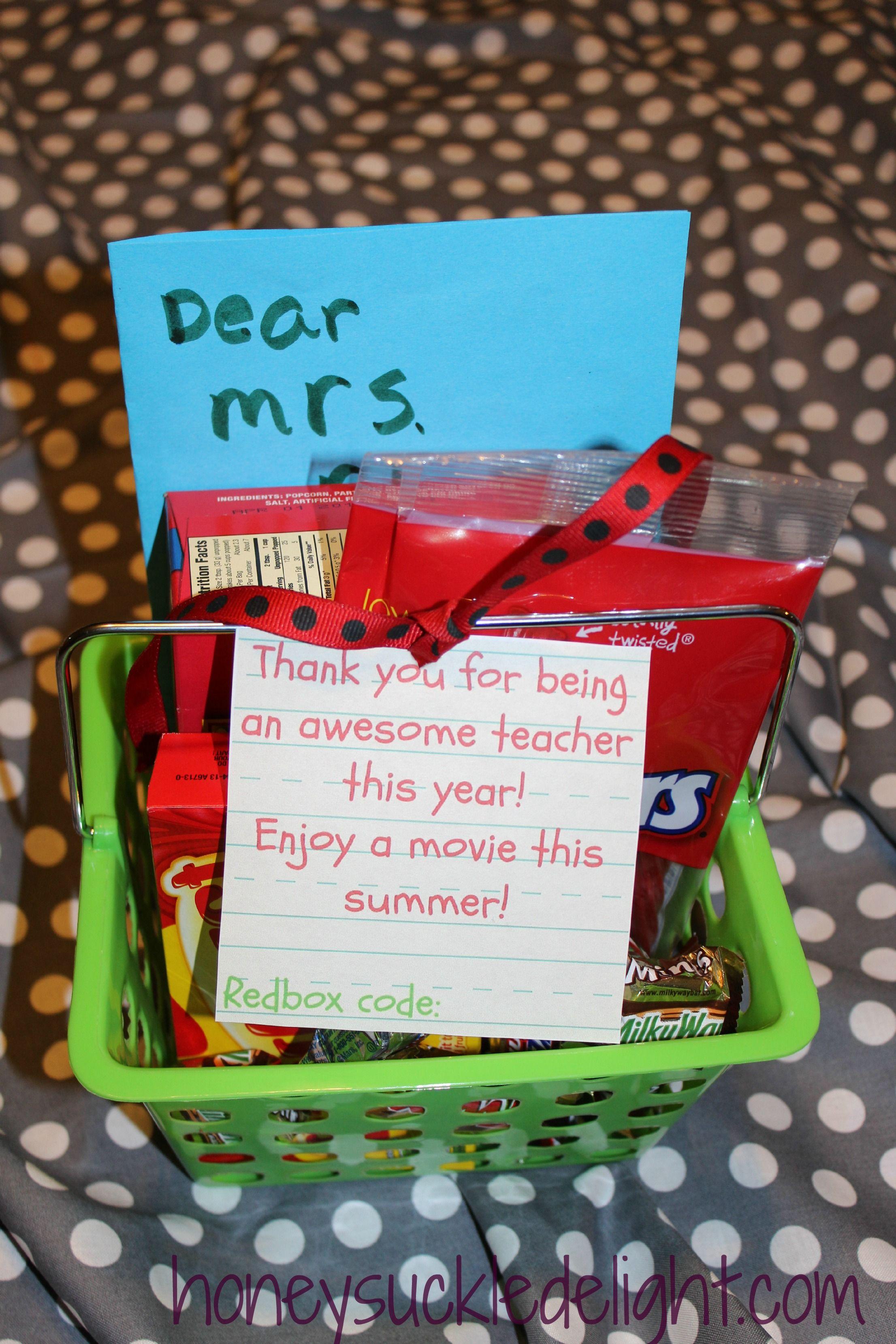 Teacher Or Bus Driver Redbox Gift