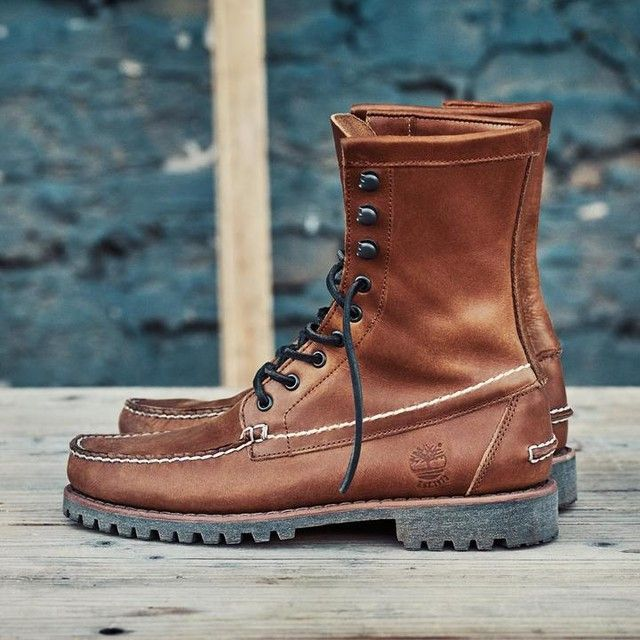 Men's Timberland Authentics 8-Inch Rugged Handsewn Boots   Timberland US  Store