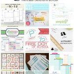 Back to School Printable Bundle