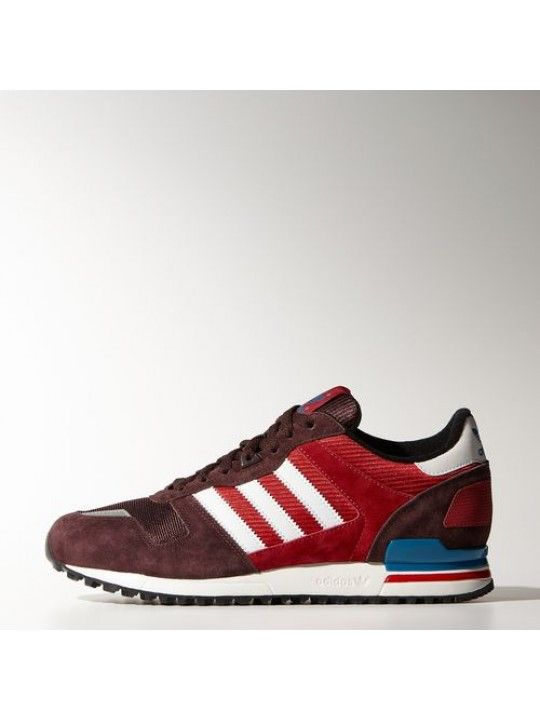 pas mal 53e08 55812 Chaussure Homme Adidas Zx 700 Vin Rouge/Blanc/RougeXth0dn ...