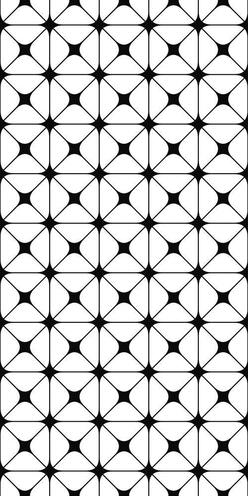 Seamless Monochrome Grid Pattern Design Disenos De Unas Textura Patrones