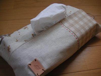 Handmade Mo Mo ハンドメイド日記 作り方 ティッシュカバー ハンドメイド カバー