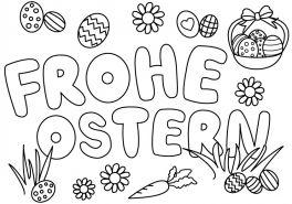 Ostern Ausmalbild Ausmalbilder Für Kinder Kunstunterricht