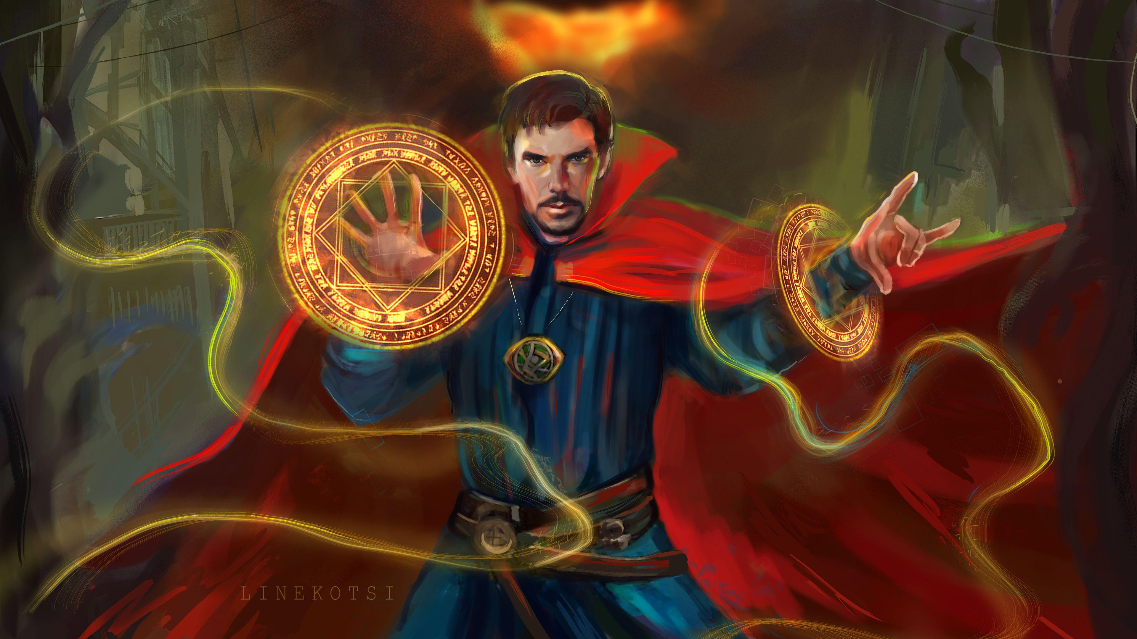 Arts Doctor Strange 4k superheroes wallpapers, hd