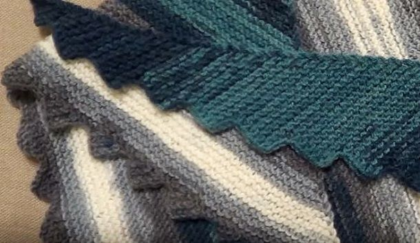 как связать бактус спицами видео мастер класс вязалочки Knitting