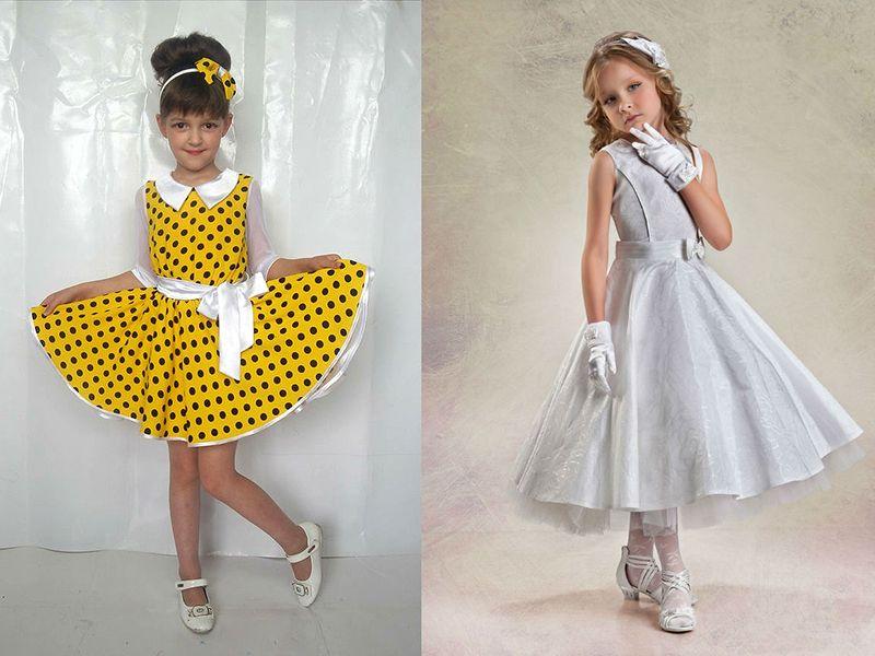 f20afcaed309183 Детское платье в стиле стиляг – лучший выбор для девочек | Мода ...
