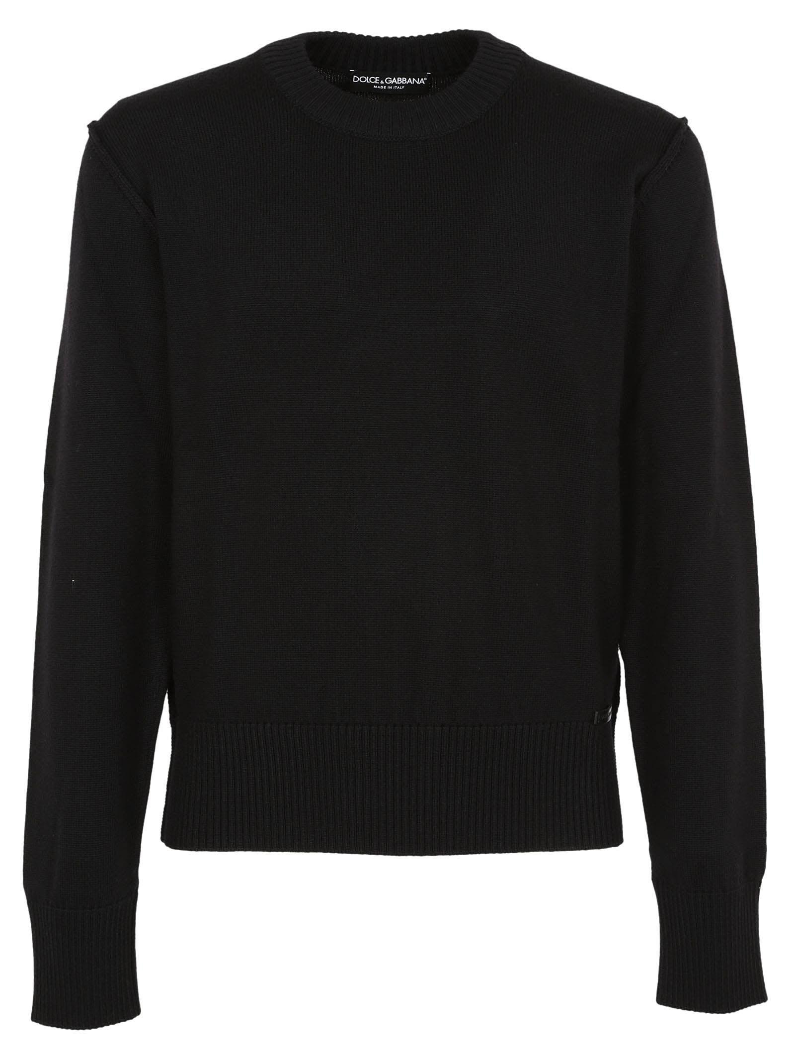 crew neck sweater - Black Dolce & Gabbana Cheap Fake zD5jcZgBR