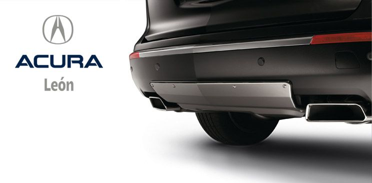 Acura Mdx Adorno De Defensa Frontal Accesorio Leongto Accesorios Defensa