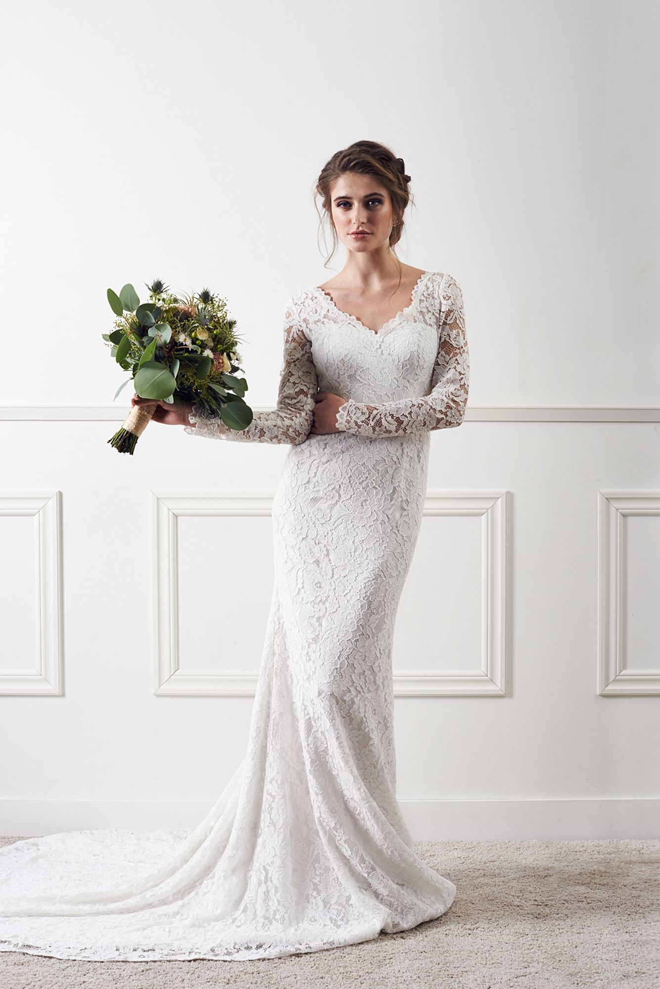 Serena Rose Lace Wedding Gown From By Malina 2016 Collection