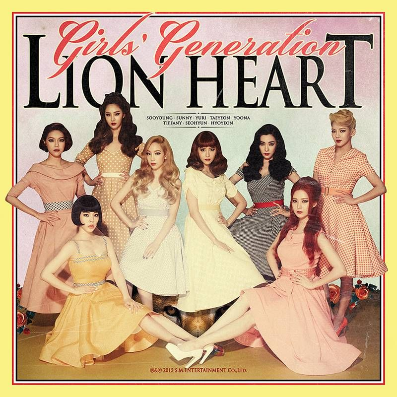 Girls' Generation go back in time in teaser pics for 'Lion Heart's double title track comeback!