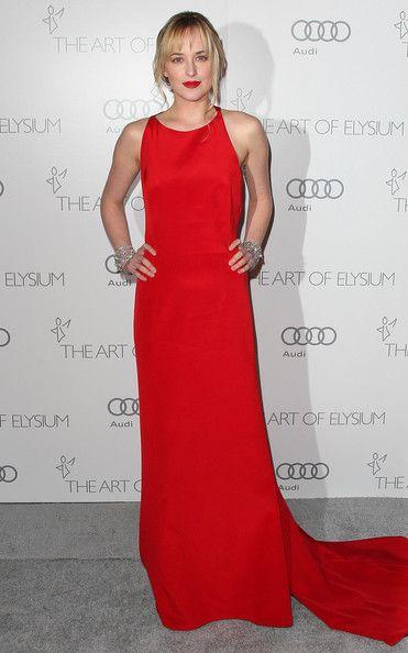 "Dakota Johnson | Kibbe Dramatic Classic | The Art Of Elysium's 6th Annual Black-tie Gala ""Heaven"" - Arrivals"