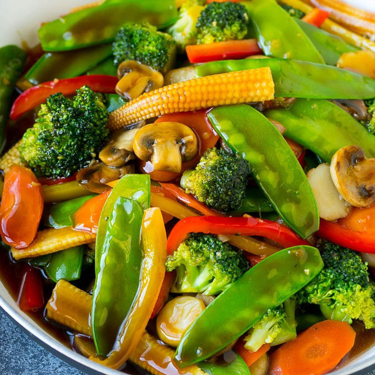 Vegetable Stir Fry #vegetablestirfry