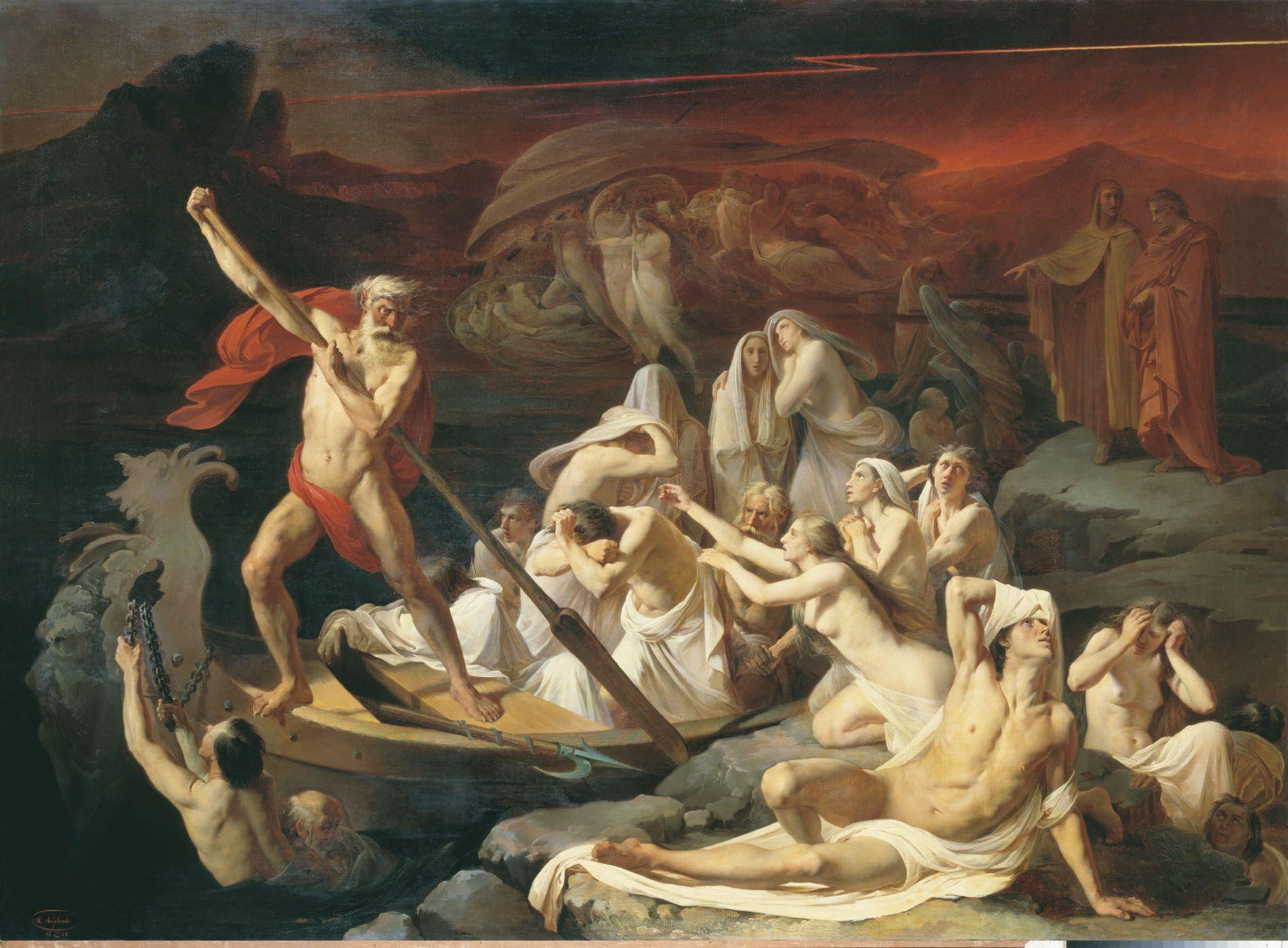 Lytovchenko Olexandr Kharon - Charon (mythology ...