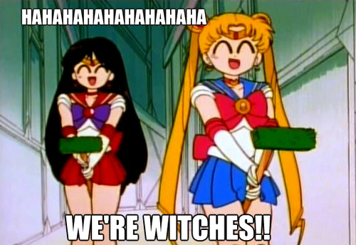Go home Sailor Scouts, you're drunk.