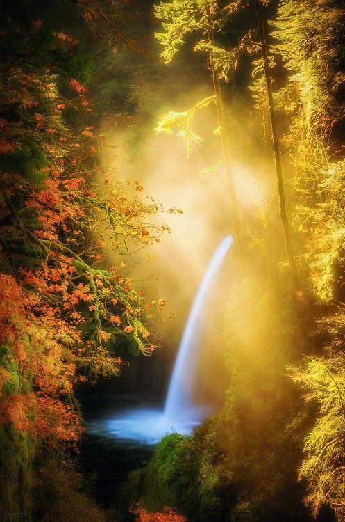 Cascada de Oregón.
