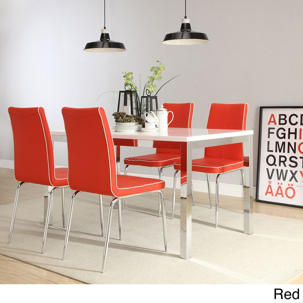 INSPIRE Q Matilda Retro Modern 5-piece Dining Set - Overstock Shopping -  Big