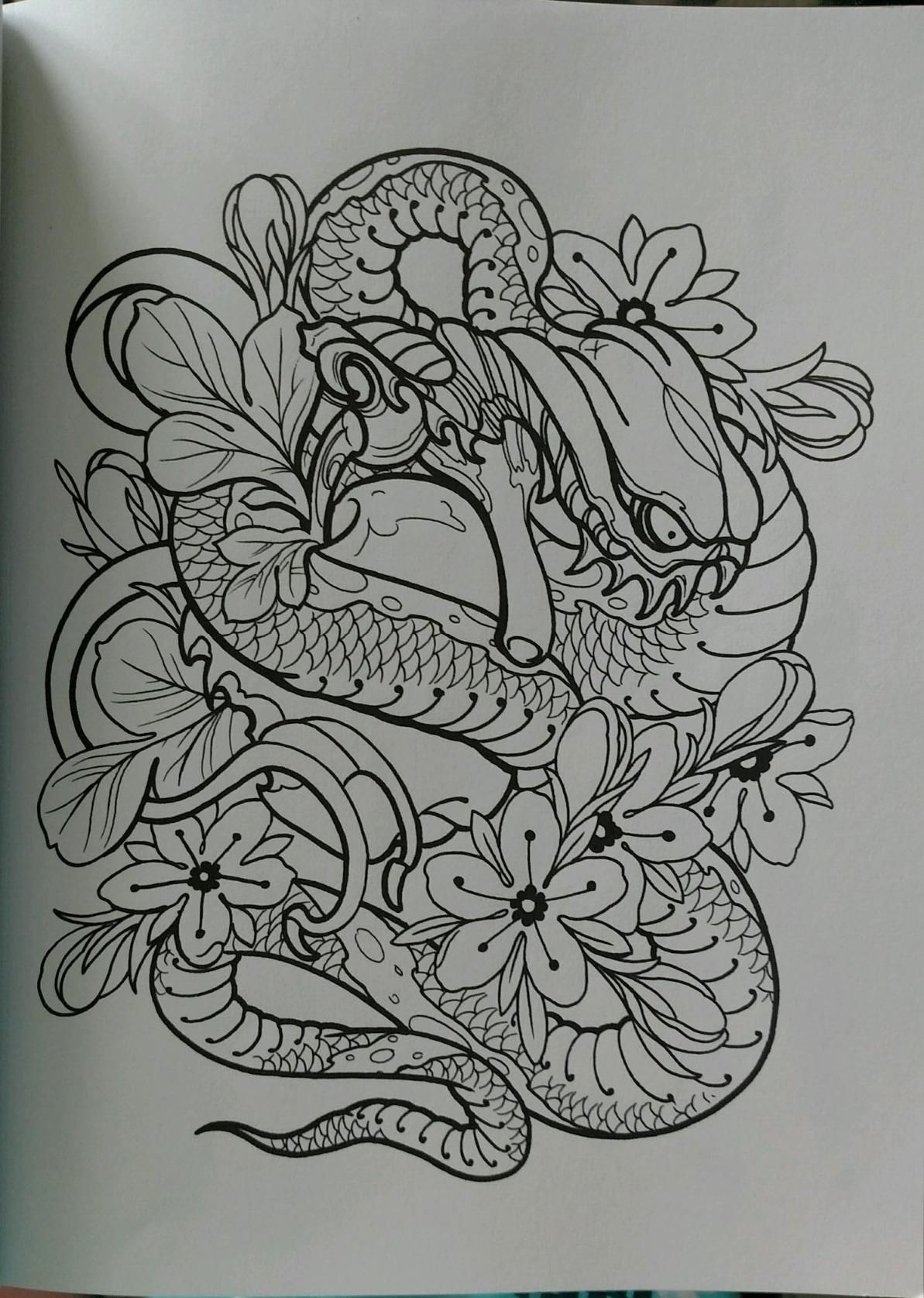 Tattoo designs coloring book - Creative Haven Modern Tattoo Designs Coloring Book Creative Haven Coloring Books Erik Siuda