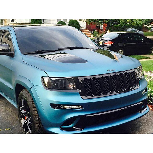 Lagoon Blue Srt Wrap Jeep Srt8 Srt Jeep