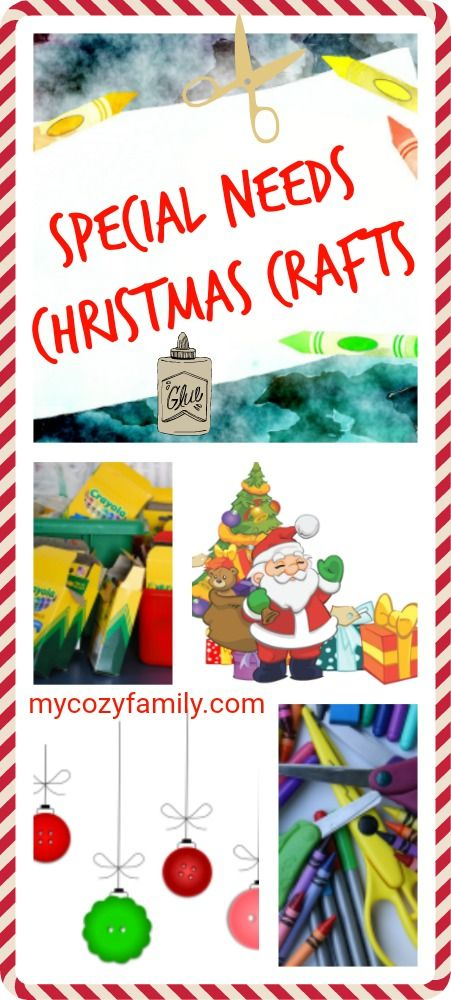 Christmas Craft Ideas For Adults With Special Needs Who Want To Get In On The Holiday Fun Special Needs Christma Christmas Crafts Crafts Easy Christmas Crafts