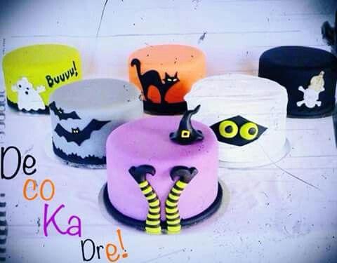 Pin by Vero Fabián on Halloween Pinterest - cake decorations for halloween