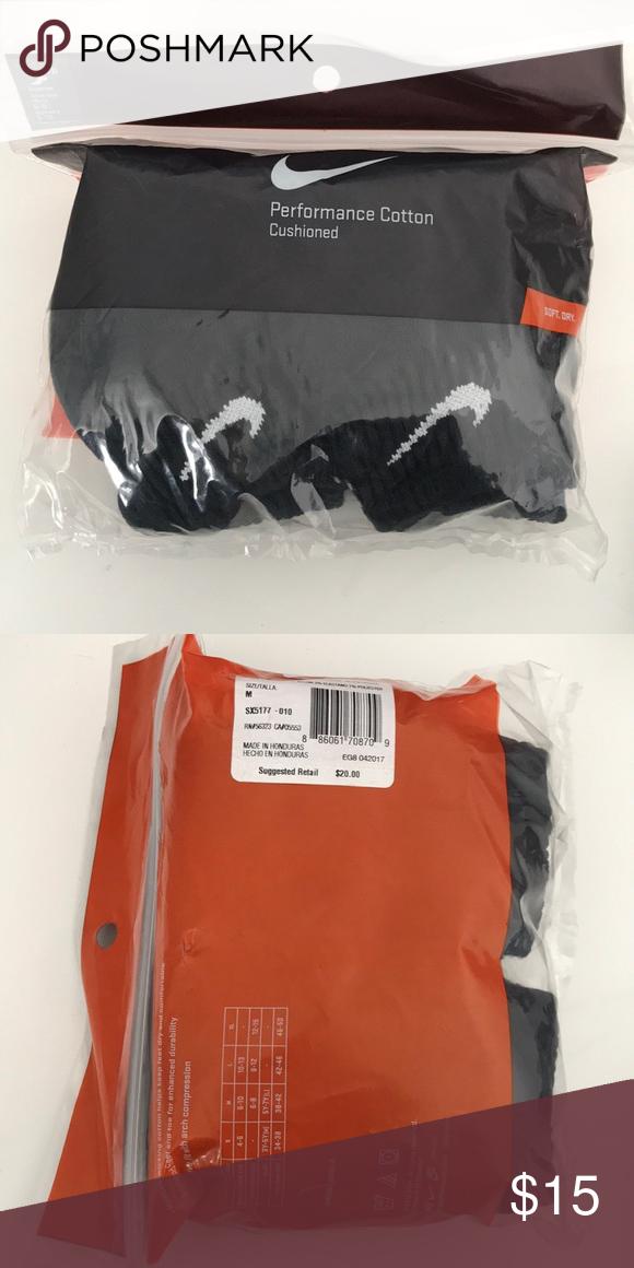 2bbc754407b Nike socks Nike Performance Cottton Cushioned socks Nike Underwear & Socks  Athletic Socks