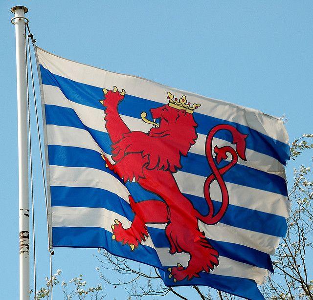 Luxembourg State Flag Flag Luxembourg Luxembourg Flag