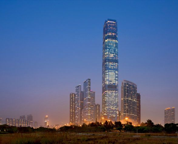 Highest Hotel in the World: Ritz-Carlton Hong Kong