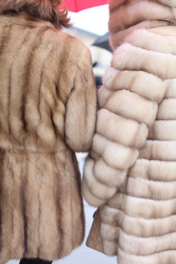 nothing like a fur coat to make your winter outfit fabulous