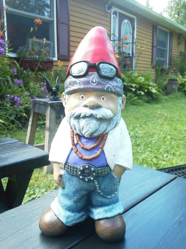 Garden Ornaments · Miami Vice Reminds Me Of One Of My Friendu0027s Husbands