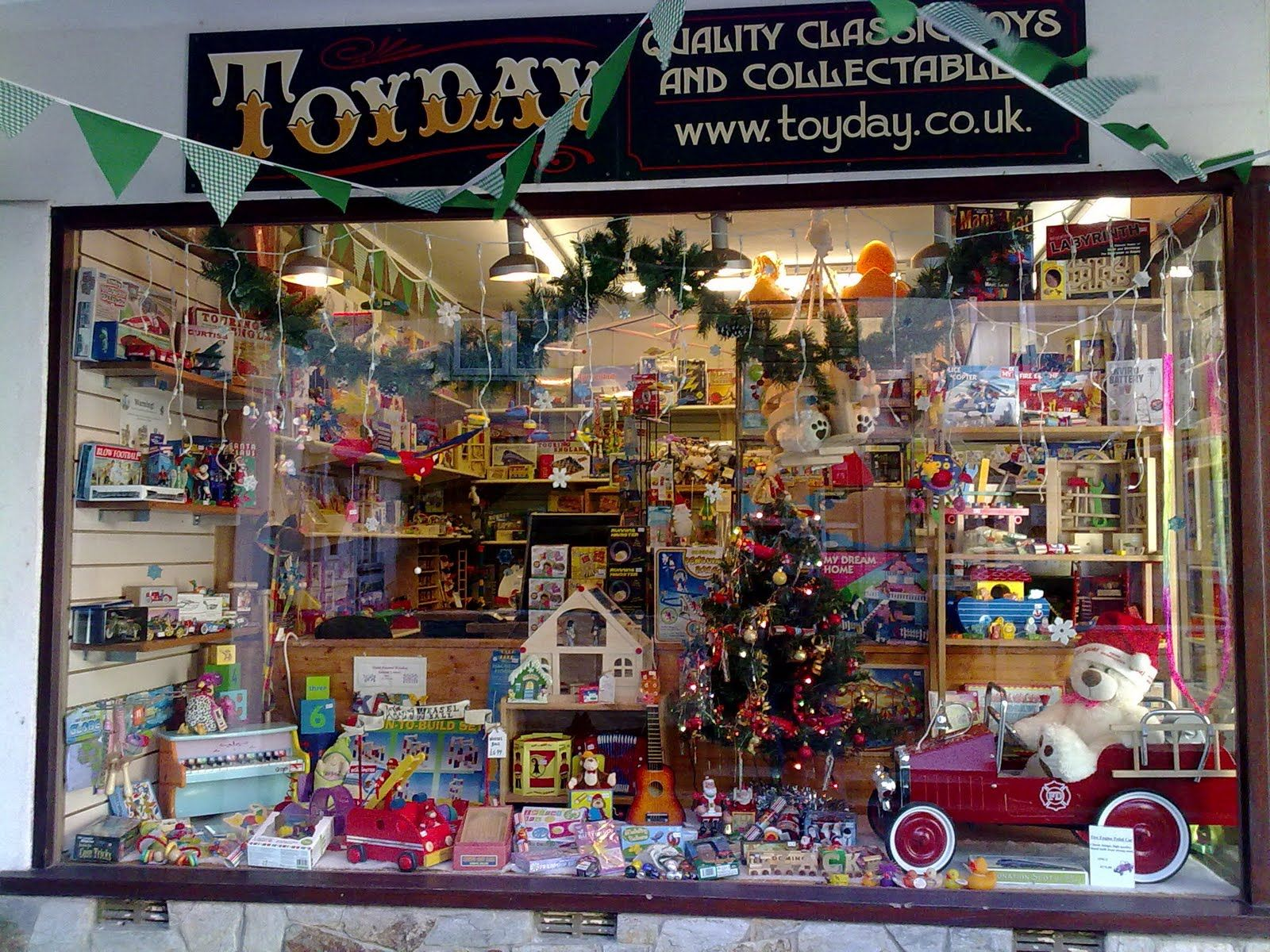 Toy Store Christmas Windows Has It Really Been Almost