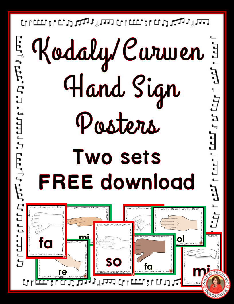 Music Posters For Classrooms Free