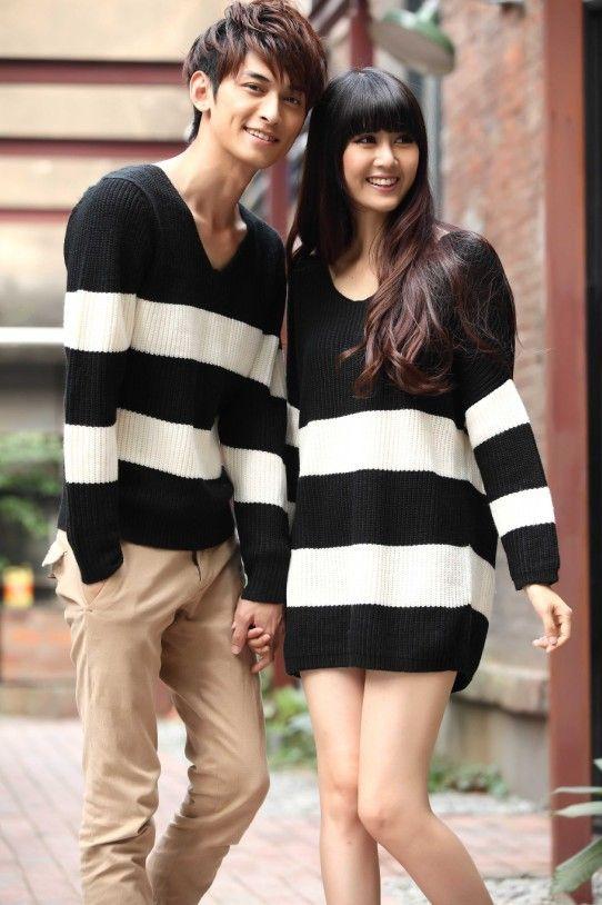 la moda de las parejas que visten igual | couples | fashion couple