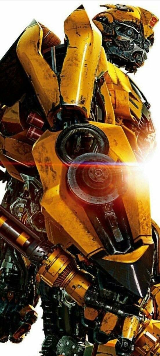 "Wallpaper Transformer ""Bumblebee"" 002 Resized for iPhone"