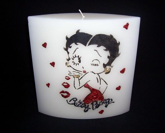 betty boop   candle