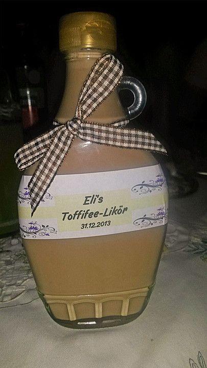 Toffifee-Likör Toffifee likör, Toffifee und Liköre - geschenke aus der küche weihnachten