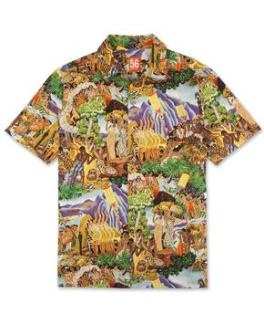 55383e9d Festivaloha - Orange Label Diego Rivera, Murals, Painters, Aloha Shirt,  Savage,