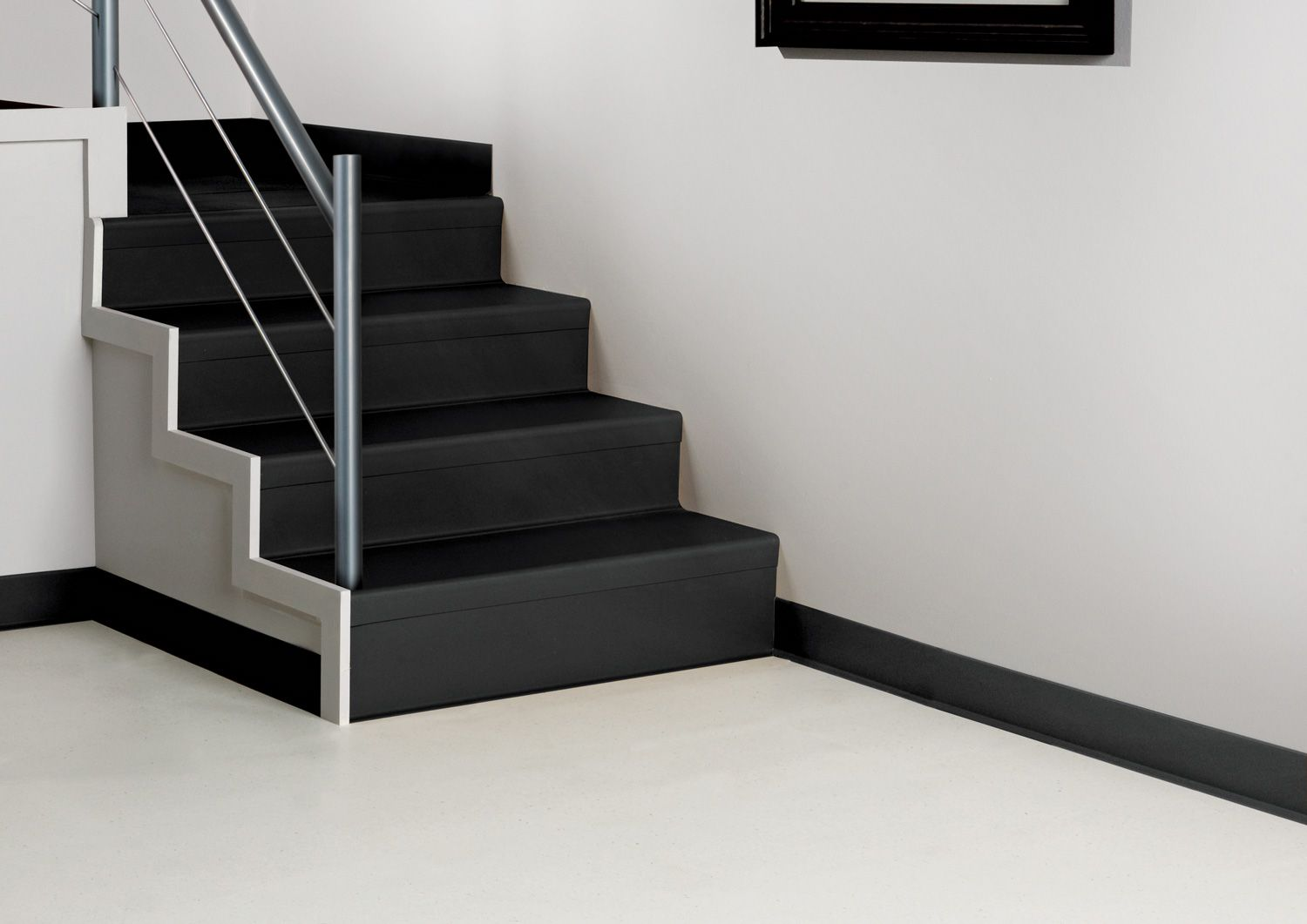 Best Black And White Rubber Stairs Google Search Stairs Pinterest Stair Treads Staircases 640 x 480