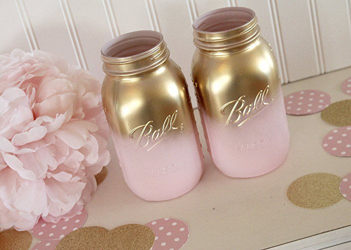 Amazon pink and gold ombre mason jarsbaby shower mason jars amazon pink and gold ombre mason jarsbaby shower mason jars junglespirit Choice Image