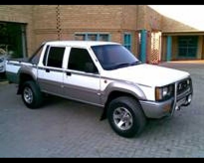 1995 mitsubishi colt rodeo 3000 v6 double cab used her for. Black Bedroom Furniture Sets. Home Design Ideas