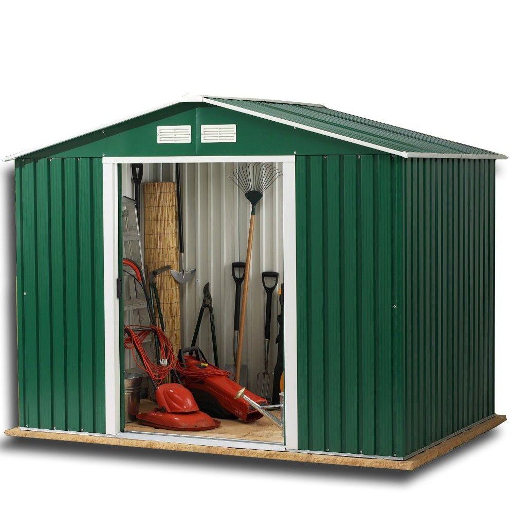 Garden Sheds 8x10 garden sheds - rosedale 8x10 metal shed | high quality metal sheds