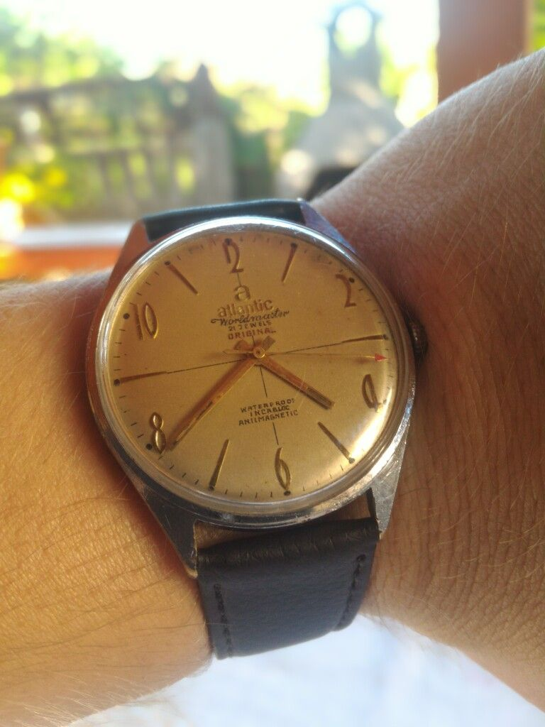 Atlantic Worldmaster 21 Jewels Classical Swiss Made Vintage Watch ... 29c3436f0b