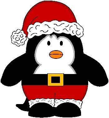 christmas penguin clip art clip art christmas 1 clipart rh pinterest com
