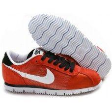 buy online ed05f be4b6 Nike Cortez Fly Motion Orange Suede White