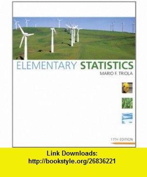Elementary statistics 11th edition 9780321500243 mario f elementary statistics 11th edition 9780321500243 mario f triola isbn fandeluxe Gallery