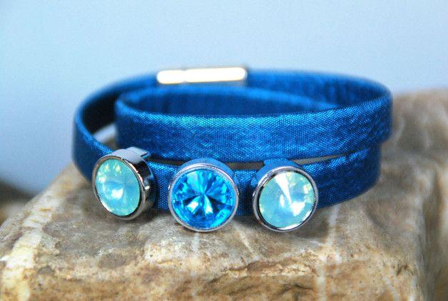 Wickelarmbänder - Wickelarmband - JuniHimmel - - ein Designerstück von DaiSign bei DaWanda