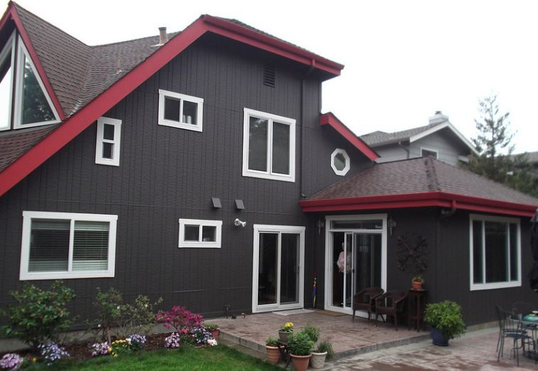 Recently Finished Project For Exterior Painting In Berkeley Ca Sherwin Williams Super Paint