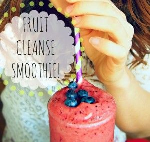 fruit cleanse smoothie