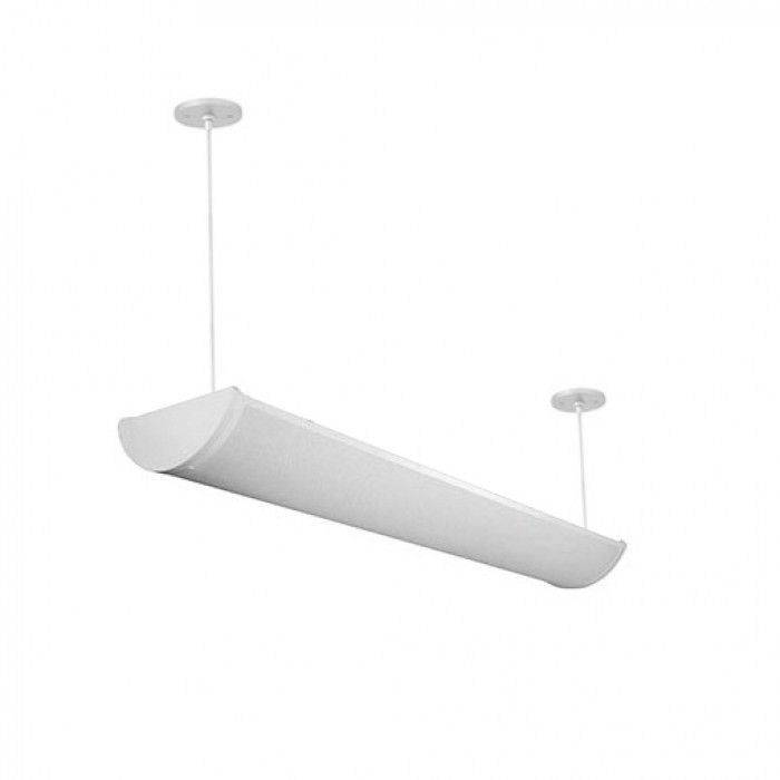 Alpine 4 Foot T8 And T5 Fluorescent Architectural Suspended Light Fixture Uplight Direct And Do Led Commercial Lighting Architectural Led Lighting Lighting