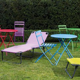 Flip Sun Lounger In Brights   Perfect For Summer Weather. Available At  Heals.co