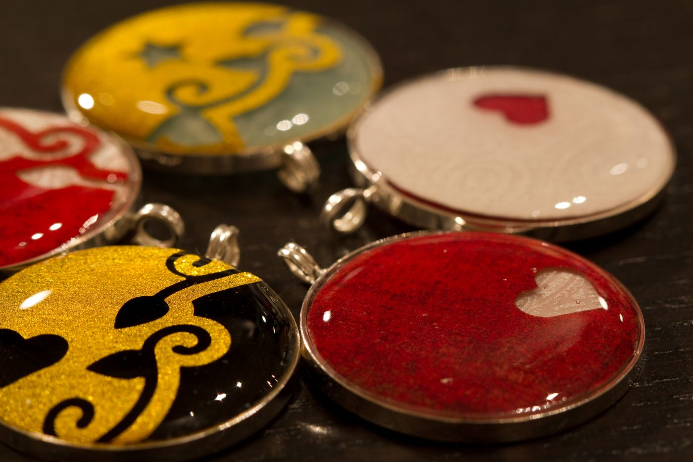 3D Resin Jewellery